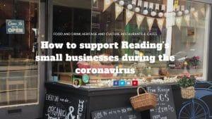 Geo Café - a local business still providing local food