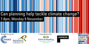 Can planning help tackle climate change? (Reading Climate Festival)