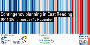 Contingency planning in East Reading (Reading Climate Festival)