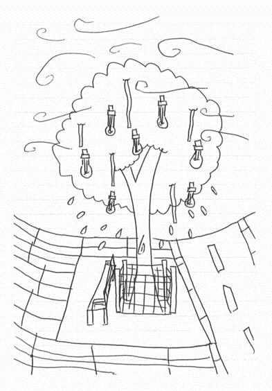 N's tree drawing